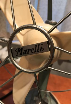 Vintage Marelli Italian table fan with Bakelite blades and knobs for Sale in Alexandria, VA
