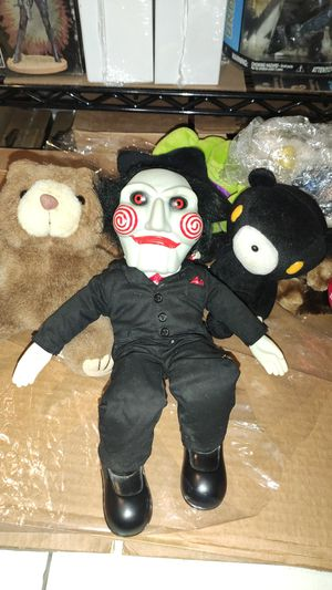 """Saw Billy. Original sideshow 10"""" puppet 2004 BLACK SHOES for Sale in Los Angeles, CA"""