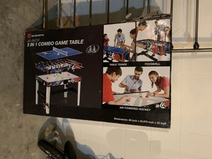 Game Table, 3 in 1 for Sale in Wesley Chapel, FL