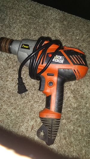 Black and Decked 7 Amp Drill for Sale in San Diego, CA