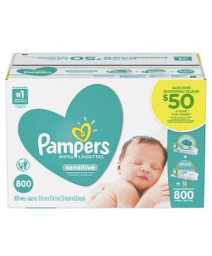 BRAND NEW - PAMPERS - SENSITIVE WIPES for Sale in Lynwood, CA