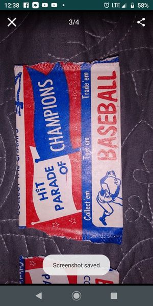 """1950s Berk Ross """"Hit Parade"""" wrappers for Sale in Federal Way, WA"""