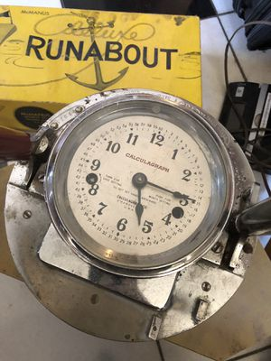 ANTIQUE / VINTAGE CLOCK DRIVER CALCULAGRAPH BILLARDS / POOL HALL ITEM for Sale in Madera, CA