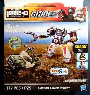 Kre-O GI Joe's A2354 Serpent Armor Strike for Sale in Lincoln, RI