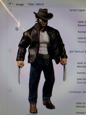 Marvel Logan Action Figure Statue Mezco for Sale in Yorba Linda, CA
