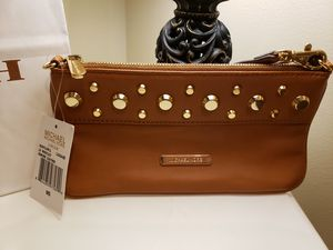 Brown michael Kors wristlet/ clutch for Sale in Hastings, NE