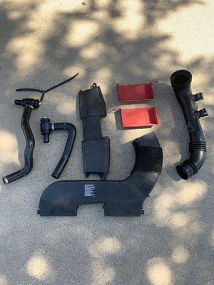 Parts for sale Turbosmart Kompact plumb back kit , oem charge pipe , ecs tuning air scoops, and oem rotors. for Sale in Grand Prairie, TX