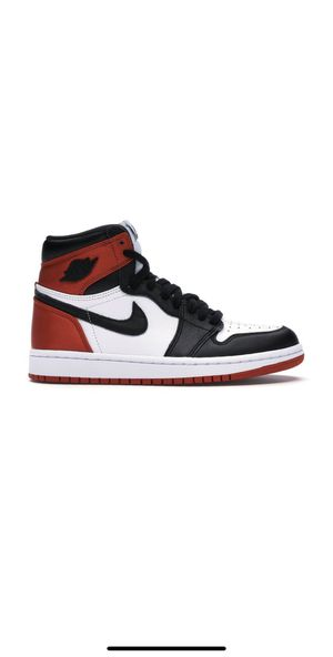 Air Jordan 1 High Satin Black Toe Size 7.5 W for Sale in Queens, NY