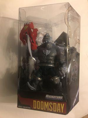 $160 Dcuc signature series Doomsday exclusive oversized figure for Sale in Elizabeth, NJ