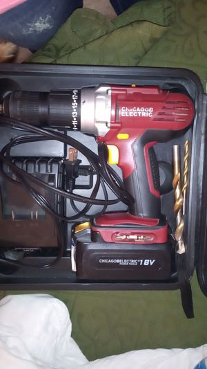 Chicago Brand Cordless drill for Sale in Albuquerque, NM
