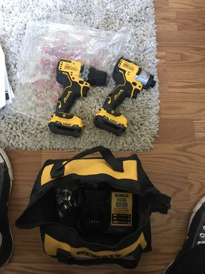 Dewalt, drill and impact for Sale in Tacoma, WA