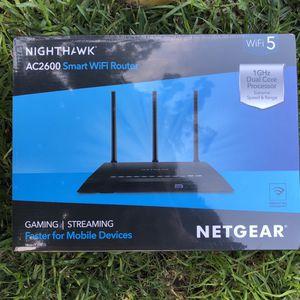 NETGEAR Nighthawk AC2600 Smart WiFi Router (R7450) for Sale in Los Angeles, CA