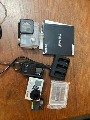GoPro Hero 3+ Black w/ remote for Sale in Plano, TX