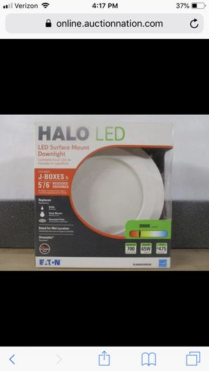 Halo SLD 5 in. and 6 in. White Integrated LED Recessed Retrofit Ceiling Mount Light Fixture at 90 CRI, 3000K S for Sale in Mesa, AZ