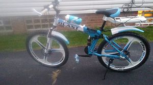 D'lant folding mountain bike (custom) for Sale in Cleveland, OH