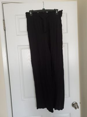 Flowly dress up black pants for Sale in Gaithersburg, MD