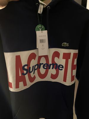 Supreme Lacoste hoodie for Sale in Apple Valley, CA