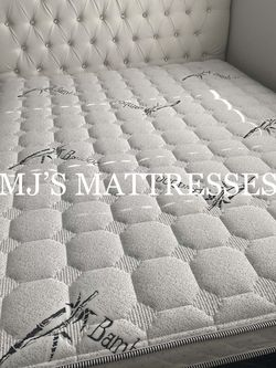 BAMBOO PILLOW TOP MATTRESS 💯 BEST DEALS ‼️ DELIVERY AVAILABLE 🚛 for Sale in La Mirada,  CA