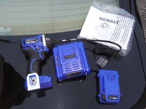 Kobalt 24v impact drill driver for Sale in Danville, KY