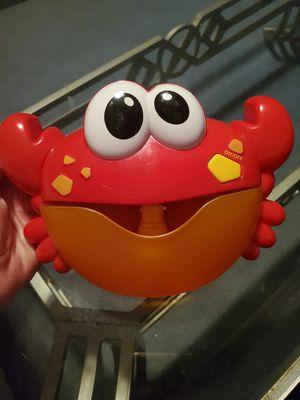 Bubble crab, kids bath toy for Sale in Wahneta, FL