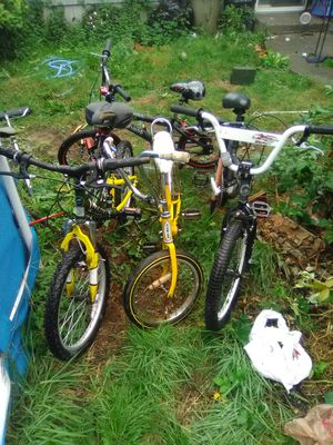 BMX Bikes & mountain bike and vintage banana seat Cruiser for Sale in Seattle, WA