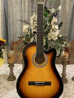 sunburst fever classic acoustic guitar for Sale in Downey,  CA