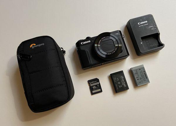 Canon PowerShot G7 X Mark 2 Digital Camera