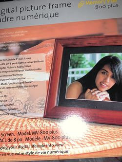 Digital Picture Frame Model MV-800 Plus for Sale in Los Angeles,  CA