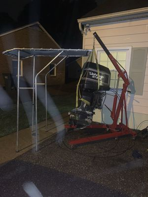 Johnson 200gt venture trailer and t top for Sale in Henrico, VA