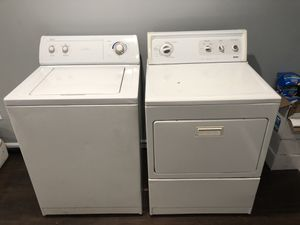 Whirlpool Washer & Kenmore Dryer for Sale in Lawrence, MA