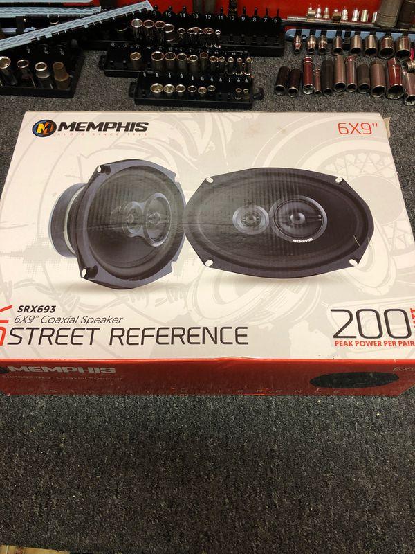 """Brand new memphis 6""""x9"""" speakers"""