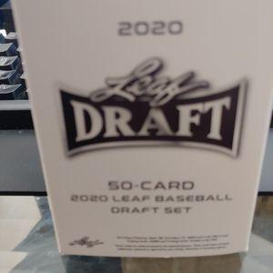 2020 Leaf Draft Baseball 50 Card Set Dominguez Franco Acuna Tatis Torkelson RC for Sale in Boca Raton, FL