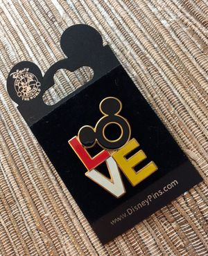 Mickey Icon LOVE Pin for Sale in New York, NY