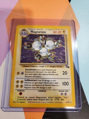 Pokemon card Magneton fossil holo mint condition for Sale in The Bronx, NY