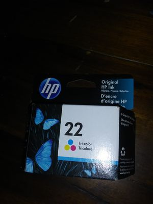 Hp Ink 21 and 22 for Sale in Hardeeville, SC