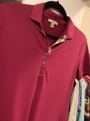 Women fitted Burberry Polo Shirt (M) for Sale in Opa-locka, FL