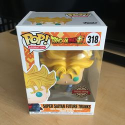 Dragonball Z Future Trunks Funko Pop 318 for Sale in Ontario,  CA