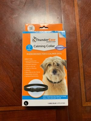 Dog Calming Collar-Thunder Ease for Sale in Monterey Park, CA