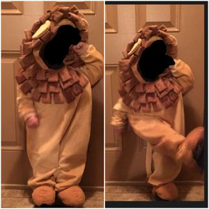 Toddler/preschool Boys/Girls soft/heavy lion Halloween costume tag sz.is 3-4T used 3x see more info gently used for Sale in Parma, OH