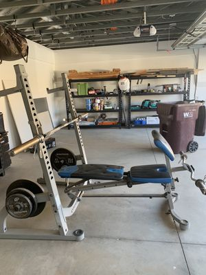 Nautilus Weight Bench Set for Sale in Riverside, CA