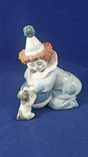 RETIRED LLADRO CLOWN WITH DOG FIGURINES for Sale in Los Angeles, CA