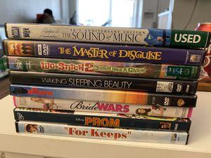 DVD Bundle of 8 for Sale in St. Petersburg, FL