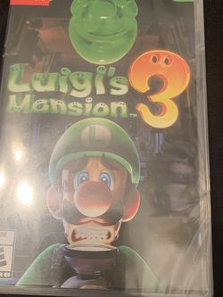Luigi's Mansion 3 NINTENDO SWITCH GAME (BRAND NEW ) for Sale in Los Angeles,  CA