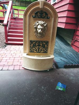 Lion fountain fair condition just need to buy your own pump for Sale in Garfield Heights, OH