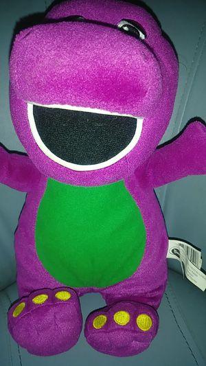 Barney plushy for Sale in Glendale, AZ