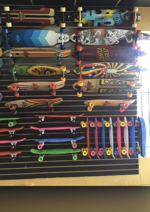 Cruiser and longboard skateboards low price for Sale in Los Angeles, CA