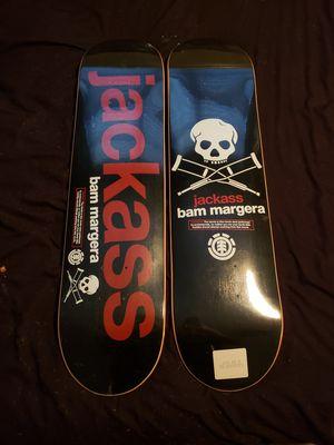 Skateboard Bam Margera jackass for Sale in Tampa, FL