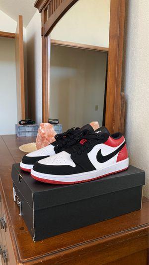 """Deadstock Jordan 1 Low """"Black Toe"""" Size 12 for Sale in Marysville, WA"""