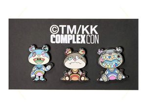 Takashi Murakami bear pin Complexcon 2019 for Sale in Los Angeles, CA