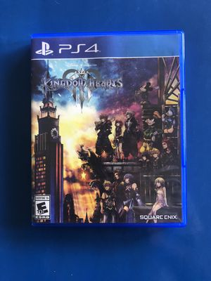 Kingdom hearts 3 Ps4 for Sale in San Diego, CA